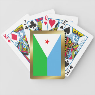 Djibouti Flag Playing Cards