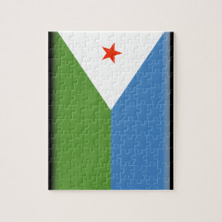 Djibouti Flag Jigsaw Puzzles