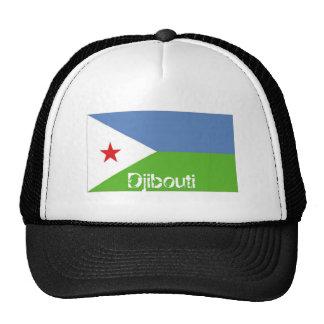 Djibouti flag souvenir hat
