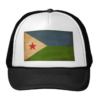 Djibouti Flag Trucker Hat