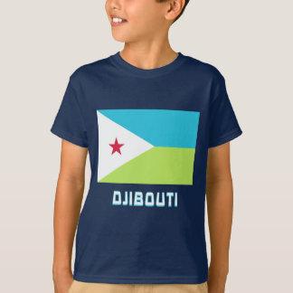 Djibouti Flag with Name T-Shirt