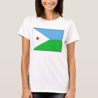 Djibouti Flag x Map T-Shirt