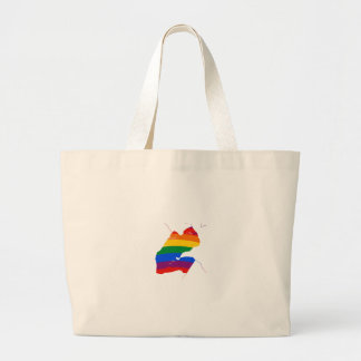 DJIBOUTI GAY PRIDE TOTE BAGS
