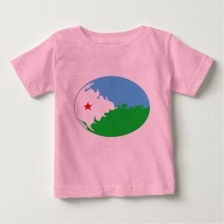 Djibouti Gnarly Flag T-Shirt