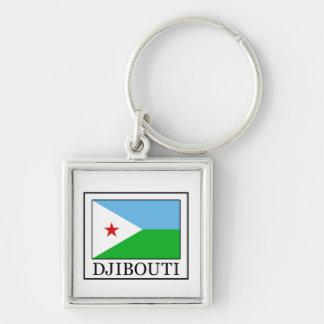 Djibouti keychain