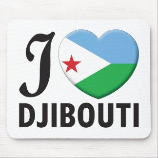 Djibouti Love Mouse Pad
