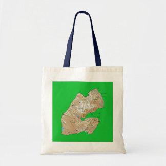 Djibouti Map Bag