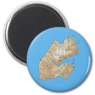 Djibouti Map Magnet