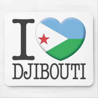Djibouti Mouse Pad