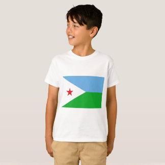 Djibouti National World Flag T-Shirt