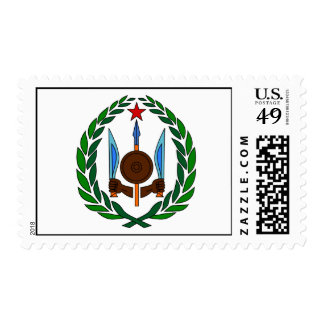 Djibouti Official Coat Of Arms Heraldry Symbol Postage