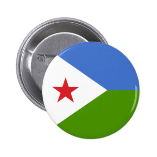 Djibouti Pinback Button