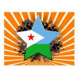Djibouti Star Postcard