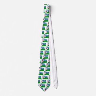 Djibouti Waving Flag Tie
