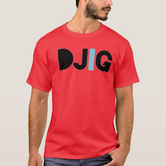 "DJIG ""Nows my time"" RED T-Shirt"