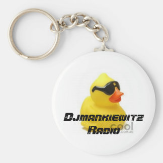 Djmankiewitz Radio Keychain