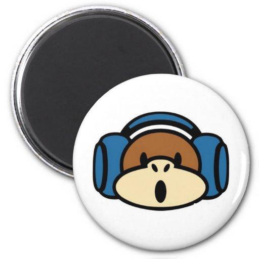 DJMonk 2 Inch Round Magnet