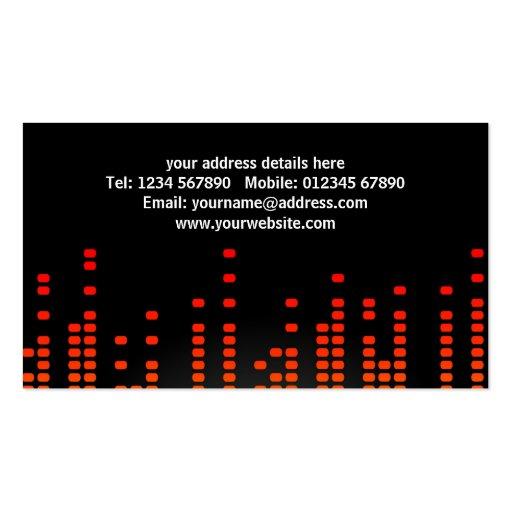 DJ's Business Card (back side)