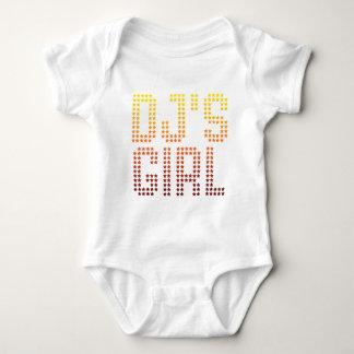 DJs Girl - Disc Jockey Girlfriend wife DJing Music Baby Bodysuit