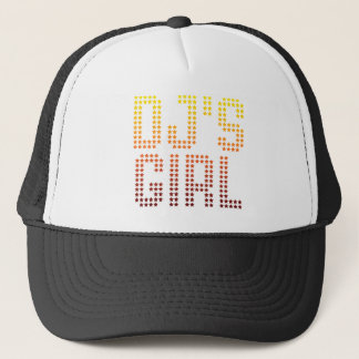 DJs Girl - Disc Jockey Girlfriend wife DJing Music Trucker Hat