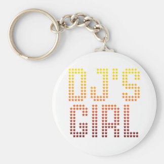 DJs Girl Keychain