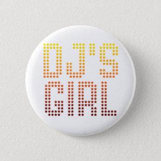 DJs Girl Pinback Button