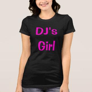DJ's Girl special hot pink logo T-Shirt