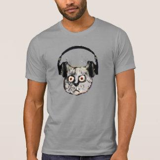 djs headphone funny cat t shirt