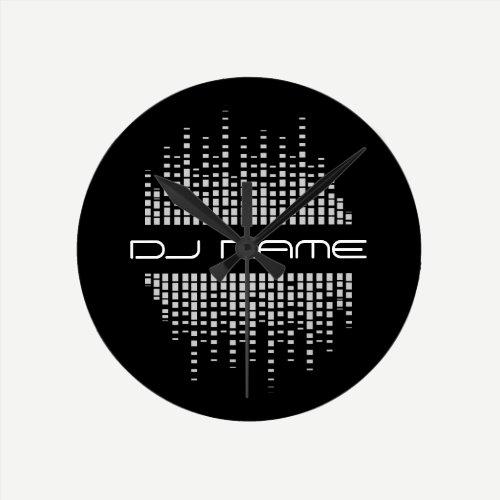DJs Music Producer Remixer Wall Clock