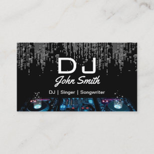 Music Business Cards 8000 Music Business Card Templates