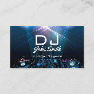 Music Business Cards Card