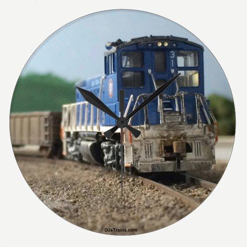DJsTrains.com Engine Clock
