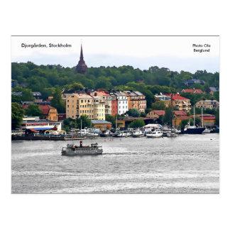 Djurgården, Estocolmo, Ola de la foto… Tarjetas Postales