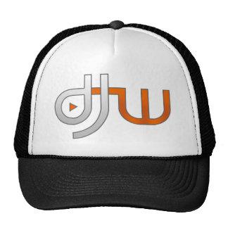 djw white trucker hat
