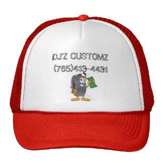djz, DJ'Z CUSTOMZ (765) 413-4431 Gorros Bordados