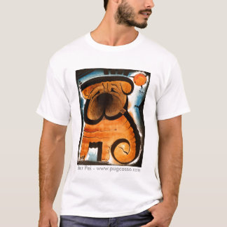 dk_2007dec31g, Shar Pei - www.pugcasso.com T-Shirt
