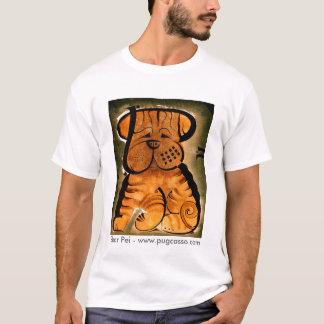 dk_2007jan30f, Shar Pei - www.pugcasso.com T-Shirt