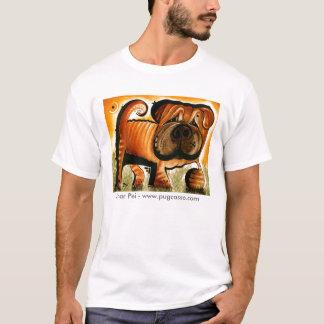 dk_2008may25e, Shar Pei - www.pugcasso.com T-Shirt