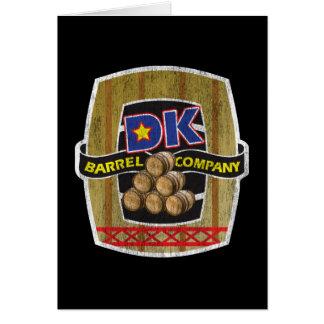 DK Barrel Company Card