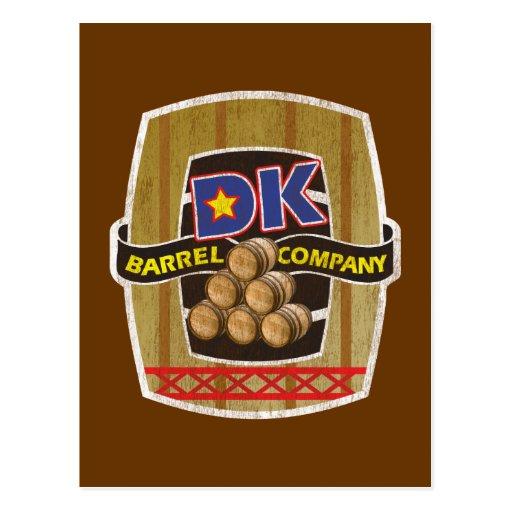 DK Barrel Company Post Cards