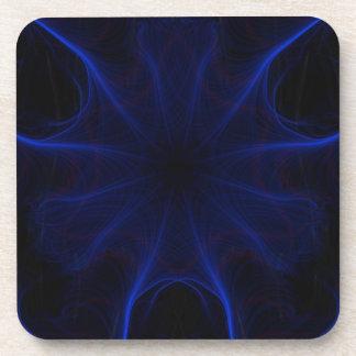 Dk. Blue laser Drink Coaster