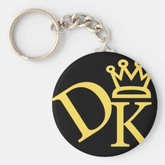 Dk Crown Logo Keychain