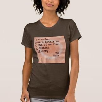 DK de las mujeres. Camisetas - lobotomía frontal Playera