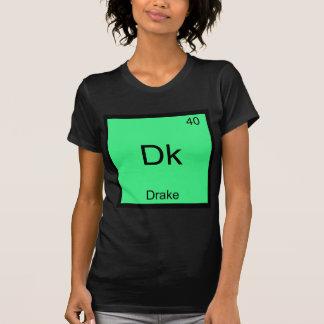 Dk - Drake Funny Chemistry Element Symbol T-Shirt