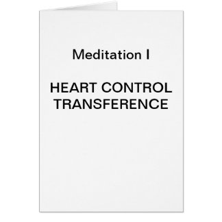 DK Meditation Series: Meditation I - CARD