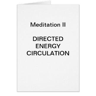 DK Meditation Series: Meditation II - CARD