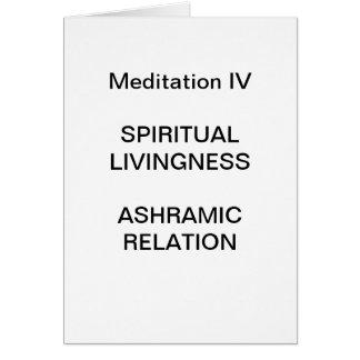 DK Meditation Series: Meditation IV - CARD