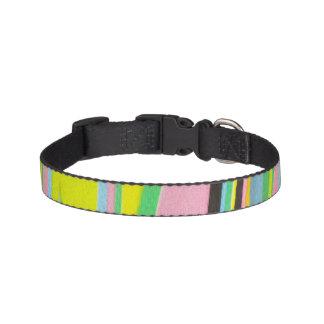 DK Studio Abstract Stripe Medium Dog Collar
