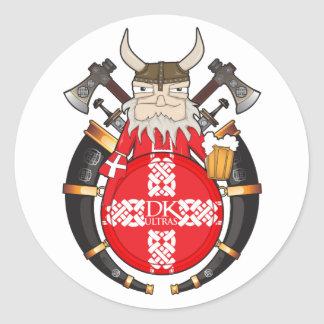 DK Ultras Classic Round Sticker