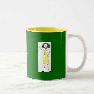 dkpwcolor, dkpwcolor, Pastor's Wife Extraordinaire Two-Tone Coffee Mug